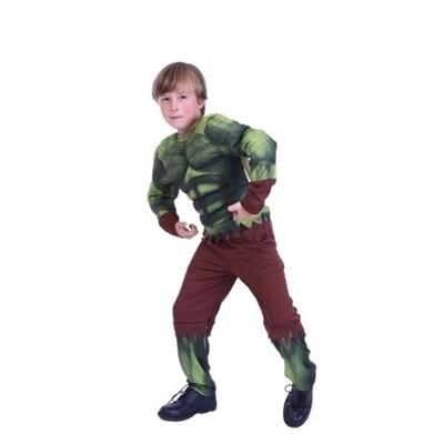 De Hulk kostuum kind verkleedkledij Superheld