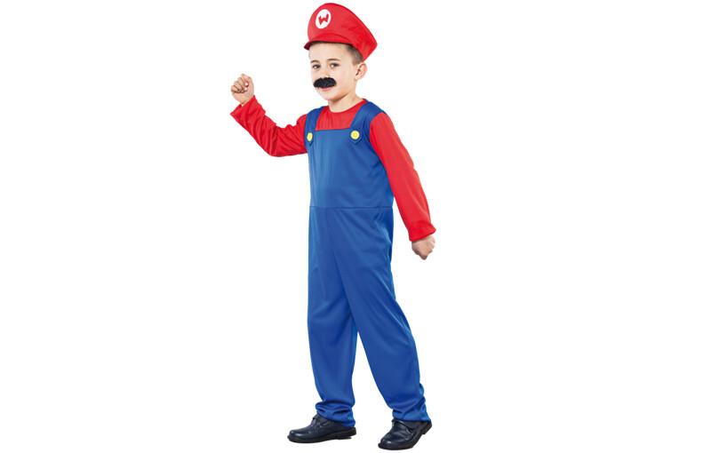 Mario Bros kostuum kind verkleedkledij Superheld