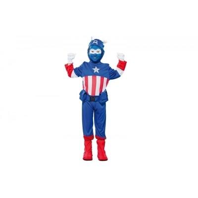 Captain America kostuum kind Marvel Avengers verkleedkledij Superheld