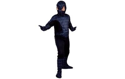 Black Spiderman kostuum kind Marvel verkleedkledij Superheld