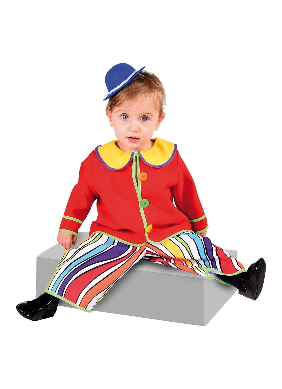 Clown kostuum Baby verkleedkledij Carnaval Maat 74