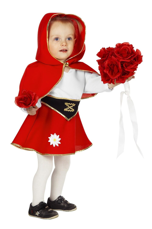 Roodkapje kostuum Baby en peuter verkleedkledij ook voor Tirolermeisje