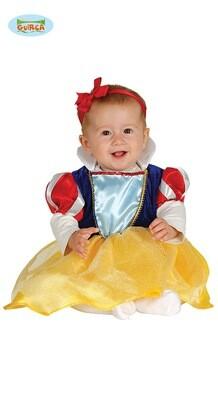 Sneeuwwitje kostuum baby verkleedkledij Disney voor 6 tot 12 maanden