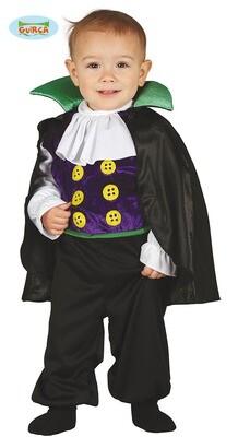 Vampier kostuum baby verkleedkledij Halloween Maat 6 tot 12 maanden