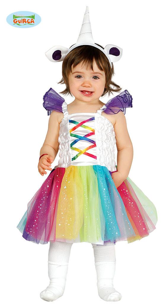 Unicorn kleedje kostuum baby verkleedkledij eenhoorn 6 tot 12 maanden
