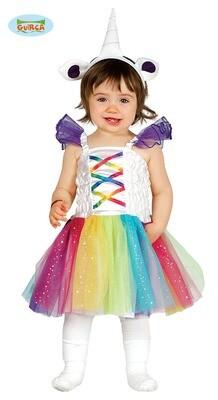Unicorn kleedje kostuum baby verkleedkledij eenhoorn 12 tot 24 maanden