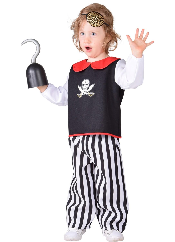 Piraat kostuum baby verkleedkledij Piraten Maat 86