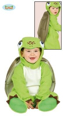 Schildpad kostuum baby verkleedkledij dieren 12 tot 24 maanden