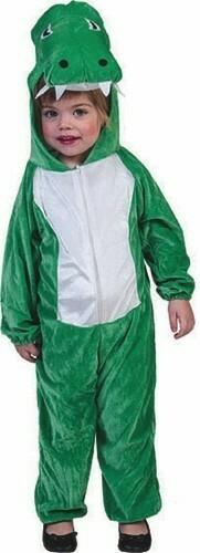 Krokodil onesie kostuum voor 3 jaar verkleedkledij dieren maat 98