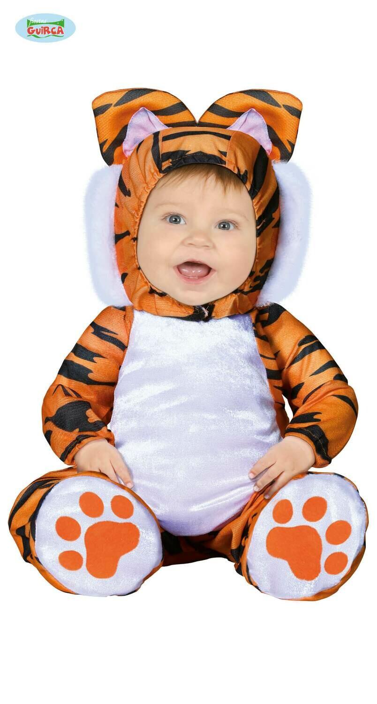 Tijger kostuum baby verkleedkledij dieren 6 tot 12 maanden