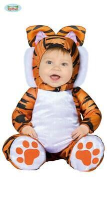 Tijger kostuum baby verkleedkledij dieren 12 tot 24 maanden