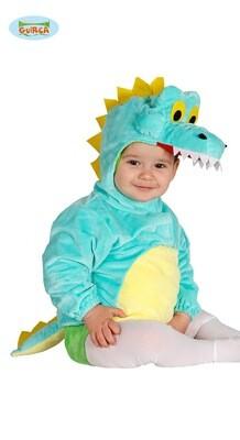 Krokodil baby kostuum verkleedkledij dieren voor 6 tot 12 maanden