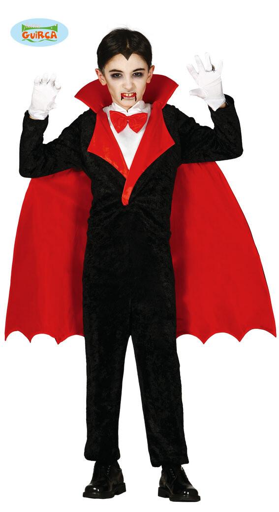 Vampier Vampiro kostuum kind verkleedkledij Halloween 7 tot 9 jaar maat 128