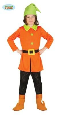 Kabouter kostuum kind verkleedkledij Dwerg Sprookjes Disney maat 104 voor 3 tot 4 jaar