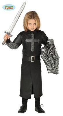 Ridder geest kostuum kind verkleedkledij voor 5 tot 6 jaar maat 116 Halloween Middeleeuwen
