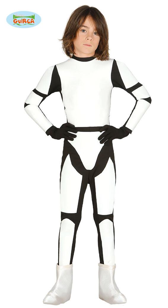 Stormtrooper kostuum kind verkleedkledij Star wars voor 7 tot 9  jaar maat 128 Superheld