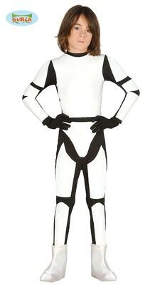 Stormtrooper kostuum kind verkleedkledij Star wars voor 5 tot 6 jaar maat 116 Superheld