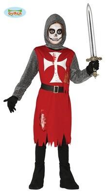 Ridder bloed kostuum kind Halloween verkleedkledij voor 5 tot 6 jaar maat 116