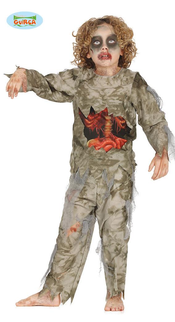 Mummie bloed kostuum kind Halloween verkleedkledij voor 7 tot 9 jaar Maat 128