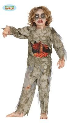 Mummie bloed kostuum kind Halloween verkleedkledij voor 5 tot 6 jaar Maat 116