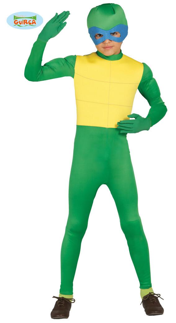 Ninja Turtle kostuum kind schildpad verkleedkledij The Turtles Superheld voor 7 tot 9 jaar Maat 128