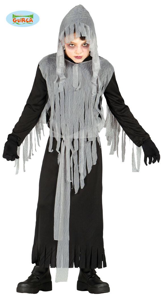 Zombie geest kostuum kind halloween verkleedkledij voor 10 tot 12 jaar Maat 152 griezel pak