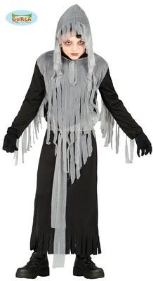 Zombie geest kostuum kind halloween verkleedkledij voor 7 tot 9 jaar Maat 128 griezel pak