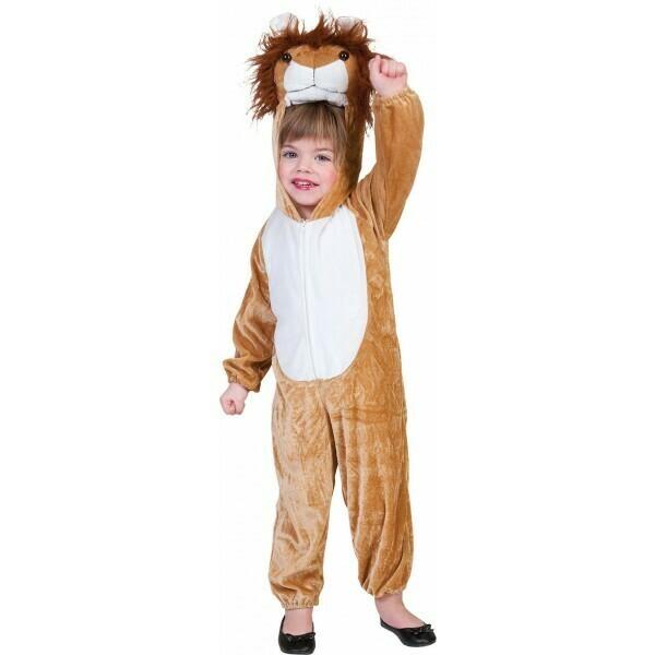 Leeuw Onesie kostuum kind verkleedkledij dieren voor 12 tot 14 jaar Maat 164 Leeuwenpak