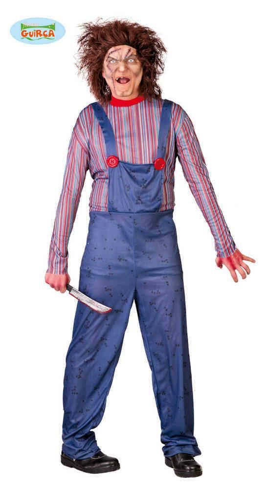 Chucky Killer doll kostuum kind ! verkleedkledij Halloween voor 10 tot 12 jaar Maat 152
