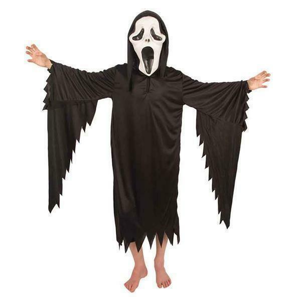 Scream kostuum kind verkleedkledij Halloween verkleedpak