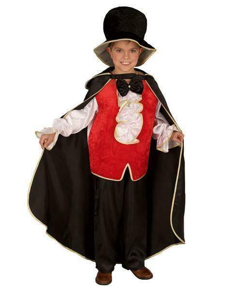 Dracula kostuum kind verkleedkledij Halloween verkleedpak Duivel