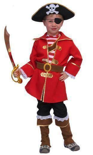 Piraat Piet kostuum kind verkleedkledij Piraten verkleedpak Carnaval