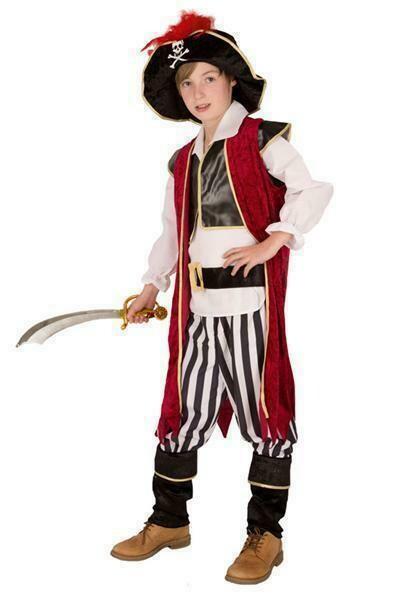 Piraat Zwartbaard kostuum kind verkleedkledij Piraten verkleedpak Rover kapitein Carnaval