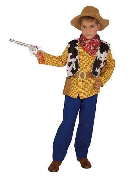 Cowboy Luke kostuum kind verkleedkledij Lucky Luke verkleedpak Country & Western