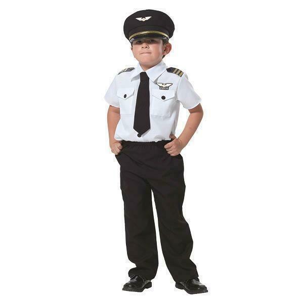 Piloot kostuum kind verkleedkledij verkleedpak Pilotenpak