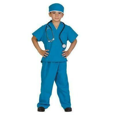 Chirurg kostuum kind verkleedkledij Dokter operatie verkleedpak Chirurgenpak