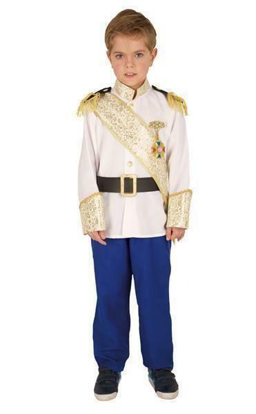 Prins kostuum kind verkleedkledij verkleedpak Koning Sprookjes