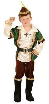 Robin Hood kostuum kind verkleedkledij verkleedpak ook voor middeleeuws