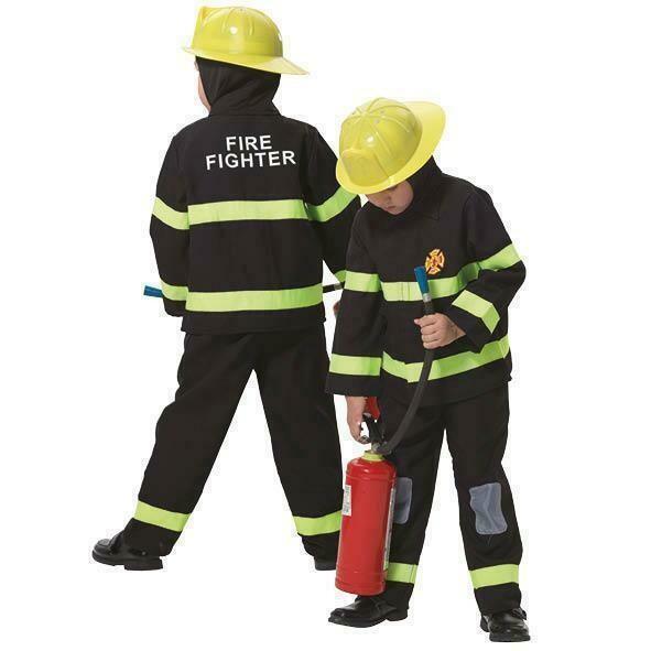 Brandweerman kostuum kind verkleedkledij Pompier verkleedpak Fireman