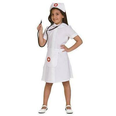 Verpleegster kostuum kind verkleedkledij Nurse verkleedpak