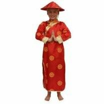 Chineesje kostuum kind meisjes verkleedkledij China verkleedpak