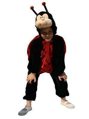 Onesie Onze Lieve Heers beestje kostuum kind verkleedkledij dieren verkleedpak Pimpampoentje