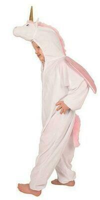 Onesie Unicorn kind verkleedkledij dieren verkleedpak Eenhoorn fantasy