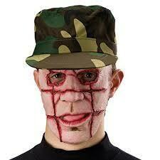Masker Hellraiser rubber latex halfmasker halloween