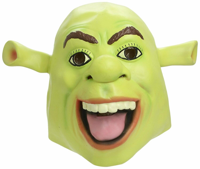 Masker shrek film rubber latex