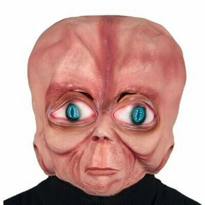 Masker Aliën rubber latex Halloween