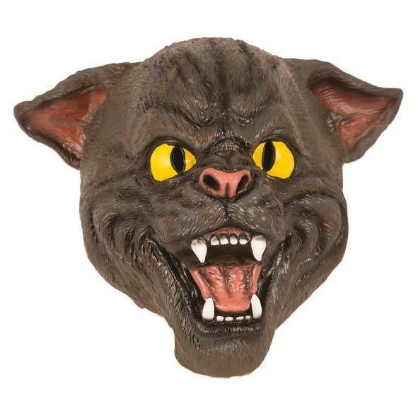 Masker kat wild rubber latex Halloween dieren