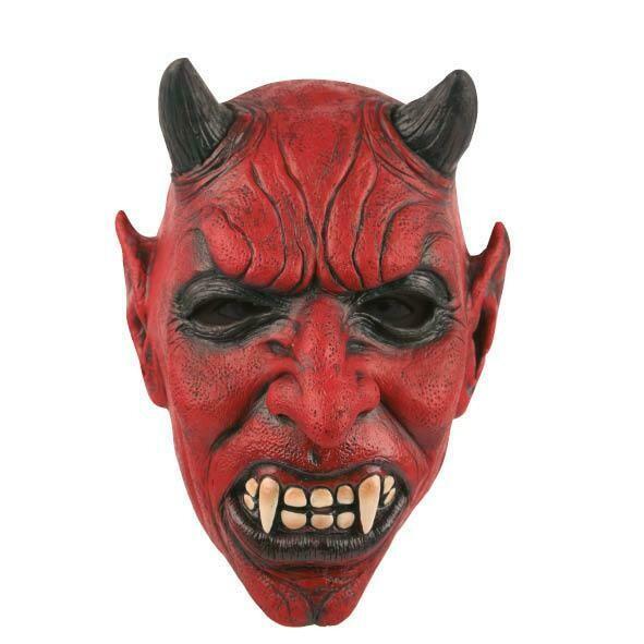 Masker Duivel Lucifer Satan rubber latex Halloween