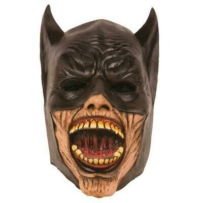 Masker Batman scary  rubber latex Halloween
