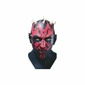 Masker Darth Maul uit Star Wars rubber latex Halloween LAATSTE STUK !